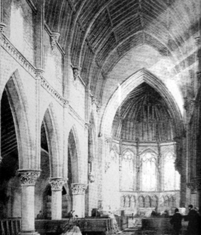 Nave & Chancel Conceptual drawing